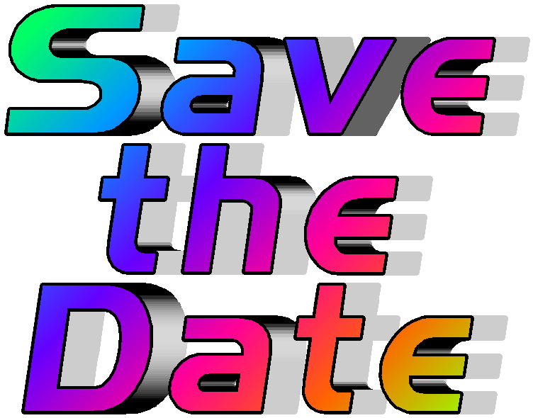 save the date january 17 24  2016 agsw gay ski week 2019 Snowflake Clip Art Month of January Clip Art